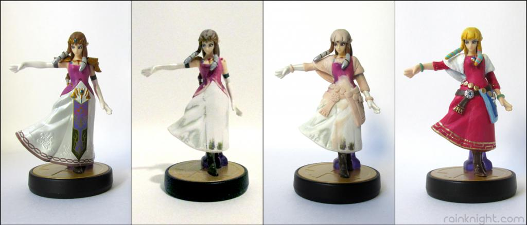 Amiibo Mod – Skyward Sword Zelda | Scattered Showers